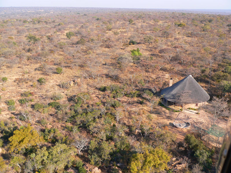 Duiker Cottage  - Aerial View