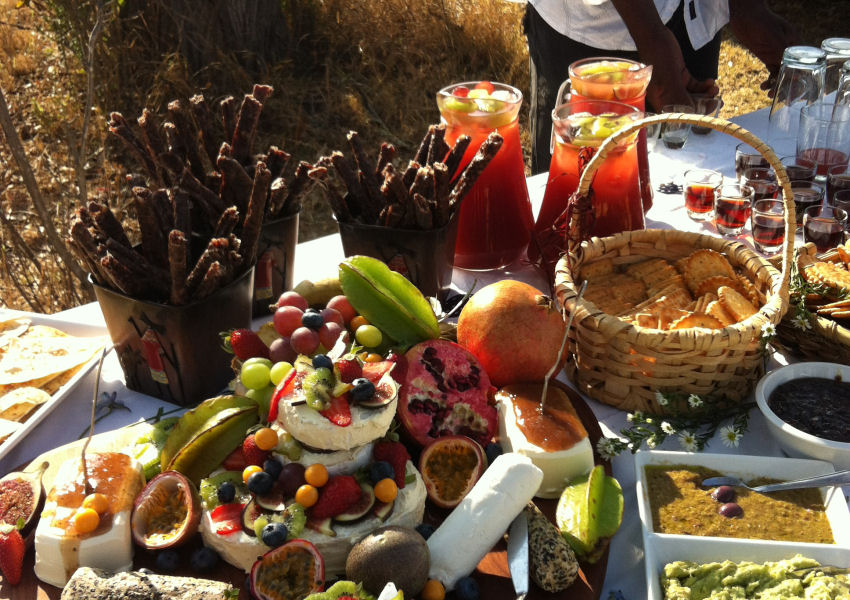 Izintaba Wedding catering