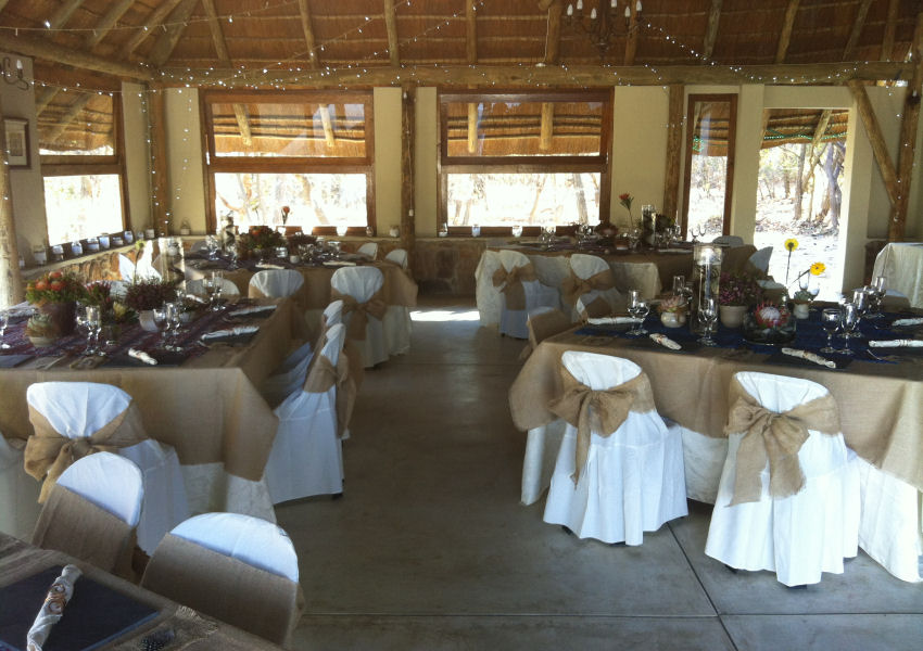 Izintaba Wedding reception
