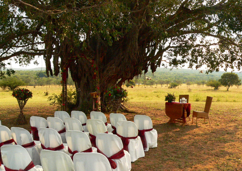 Izintaba Wedding venue